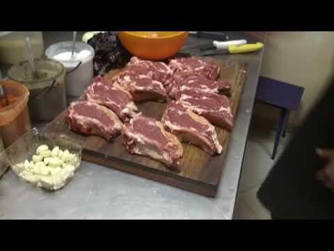 Антрекот говяжий, в маринаде из базилика и чеснока !! Beef Entrecote