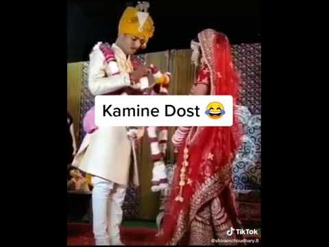 Wedding Day Friends says Gf name very funny wedding video 😂😂 | Very laughing Wedding Video