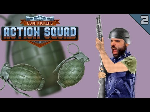 DOOR KICKERS ACTION SQUAD #2 | ESCOPETA Y GRANADAS | Gameplay Español