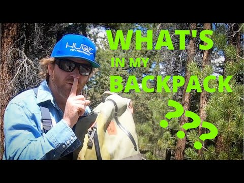 WHAT'S In My BACKPACK? (fly Fishing)