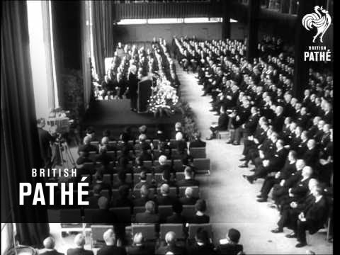 Ex-President Theodor Heuss's Funeral (1963)