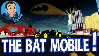I Built the BATMOBILE In Roblox Vehicle Simulator!! Bat Mobile in Roblox Vehicle Sim