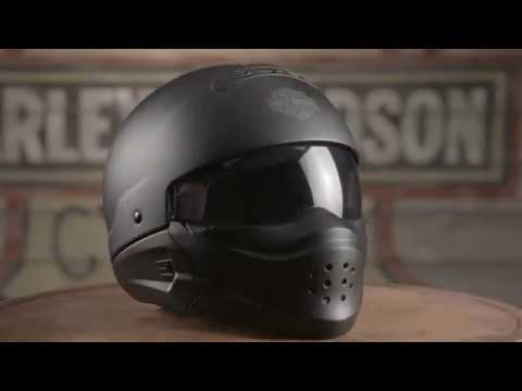 Pilot 3 In 1 Helmets - Harley Davidson for sale Full Half