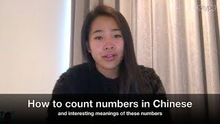 Best Chinese/Mandarin Lesson 6: How to count numbers in Chinese from 1 - 10