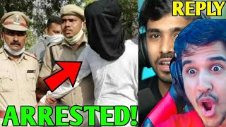 YouTuber ARRESTED! - WHY! | Desi Gamer gave Open CHALLENGE!, Ankush Hacked, Techno Gamerz