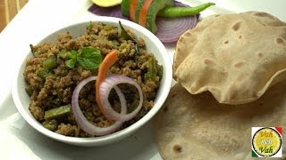 Mince Meat And Beans Masala - By Vahchef @ Vahrehvah.com