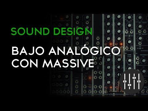 BAJO ANALÓGICO CON MASSIVE | TECHNO