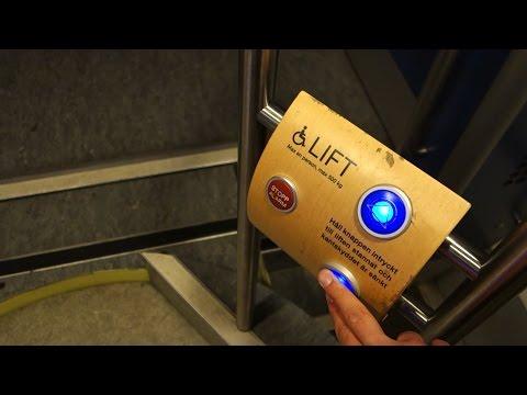 ELEVATOR ON A TRAIN!!! ALT Platform Elevator @ Tågkompaniet (X-tåget) Bombardier X52-3.