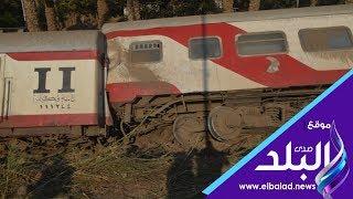 رئيس قطار البدرشين يكشف تفاصيل وأسباب الحادث