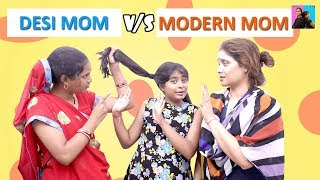 Modern Mom vs Desi Maa l  Moral Storiesl Stories in Hindil Ayu And Anu Twin Sisters