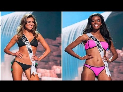Miss USA 2017 Swimsuit Competition Preliminary Show
