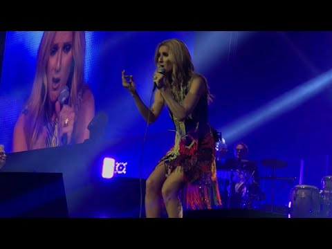 Celine Dion - You're the voice (John Farnham Cover) Live in Sydney 27th July 2018 (Full Video)