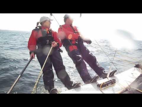Katamaran-Segeln auf der Ostsee - Hobie Tiger in Action