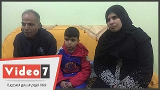 أسرة طفل بالمحلة تطالب بمعاش للإنفاق على علاجه من الفشل الكلوى
