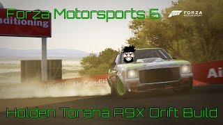 forza motorsports 6 holden torana a9x drift build
