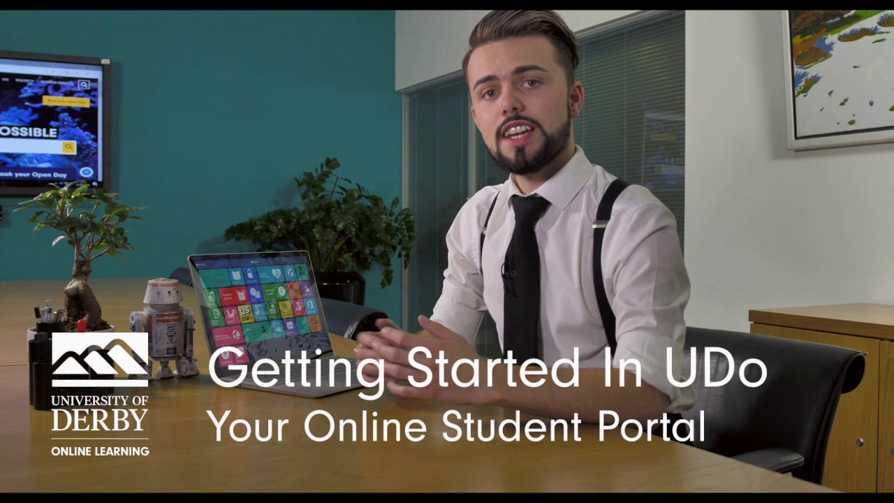 Getting Started With Udo Your Online Student Portal Youtube