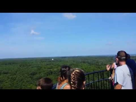 Top of Cape Hatteras Lighthouse