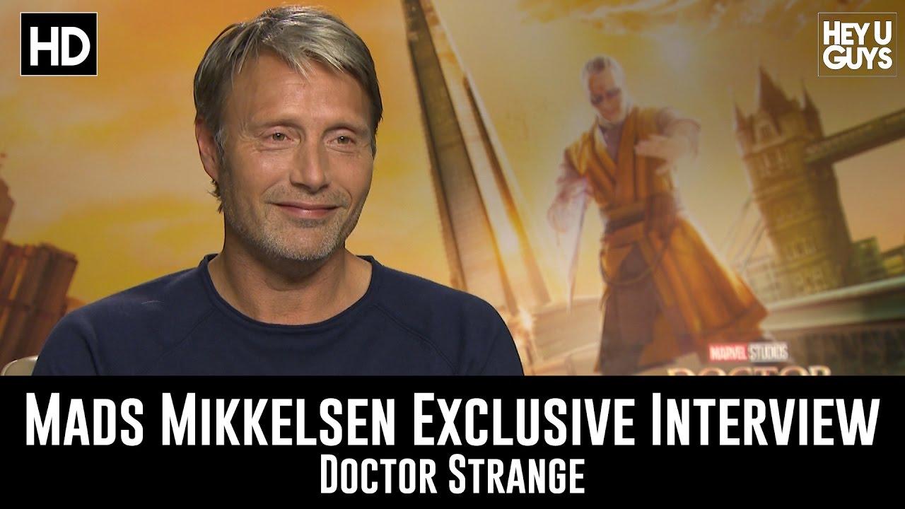 Mads Mikkelsen Exclusive Interview - Doctor Strange - YouTube