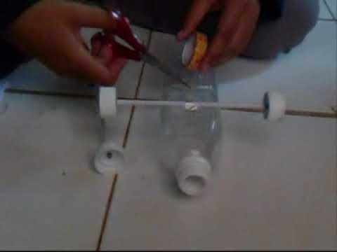 PRAKTIKUM IPA SD : Membuat Mobil Udara dari Bahan Sederhana