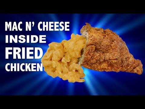 MAC N' CHEESE INSIDE FRIED CHICKEN - VERSUS