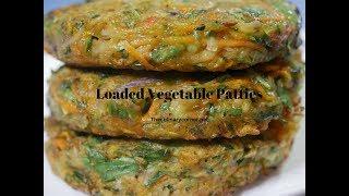 Loaded Vegetable  Patties-