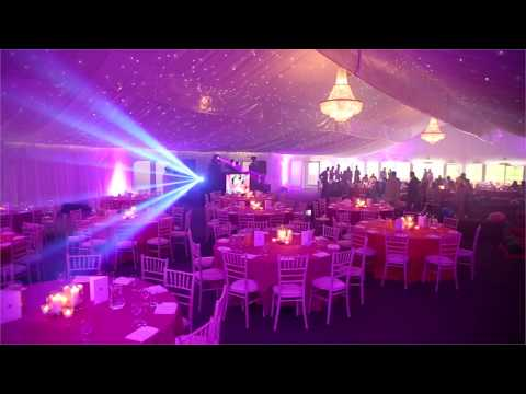 Red Cube Events In The Stockley Marquee At Stockley Park Golf Course