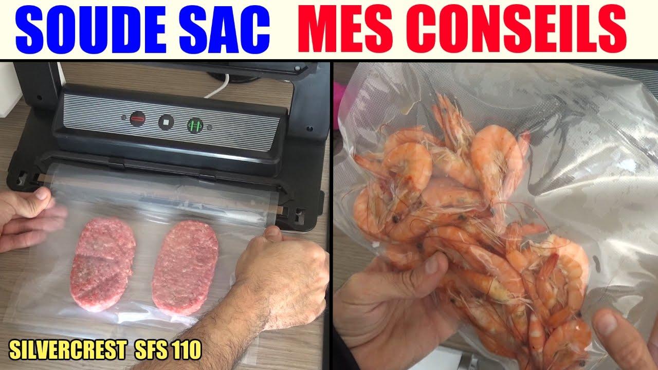 soude sac lidl silvercrest sfs 110