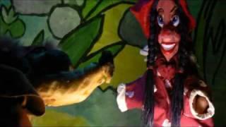 Le petit chaperon rouge. Marionnettes
