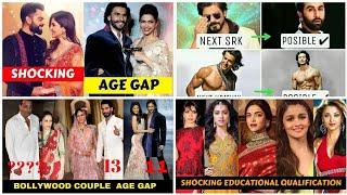 20 Shocking AGE Difference of Bollywood Couples Latest Updates-Shahrukh Khan,Amir Khan,Shahid Kapoor