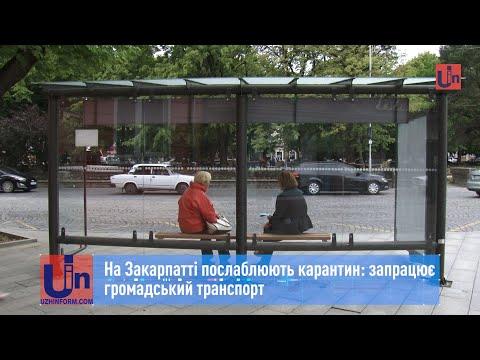 На Закарпатті послаблюють карантин: запрацює громадський транспорт