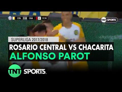 Alfonso Parot (1-0) Rosario Central vs Chacarita | Fecha 20 - Superliga Argentina 2017/2018