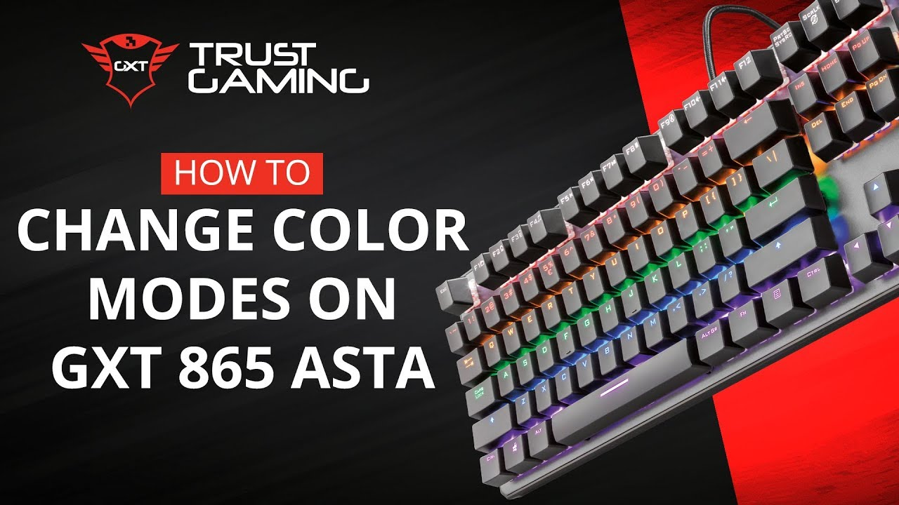 Trust GXT 865 Asta review: Affordable mechanical keyboard done right