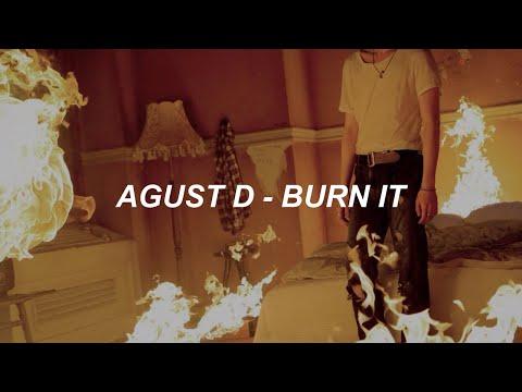 Agust D 'Burn It (feat. MAX)' Easy Lyrics
