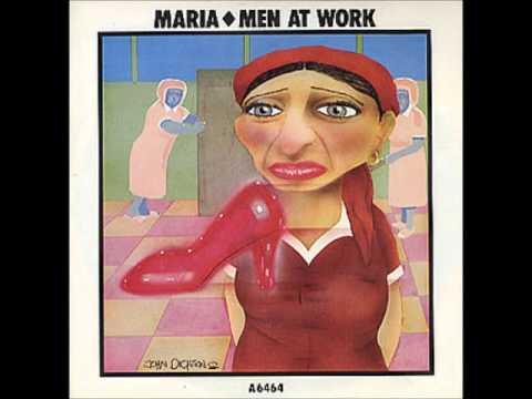 Men at work maria greek version extended mix 1985