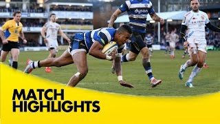 Bath Rugby v Exeter Chiefs - Aviva Premiership Rugby 2014/15