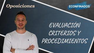 Programación Didáctica. Evaluación. Criterios y Procedimientos
