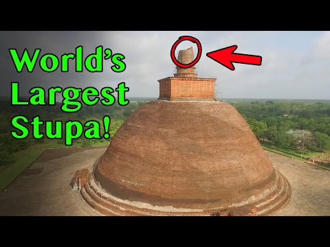 World's Tallest Buddhist Stupa - 1700 Year Old Jetavanaramaya, Sri Lanka from YouTube · Duration:  9 minutes 59 seconds