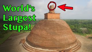 World's Tallest Buddhist Stupa - 1700 Year Old Jetavanaramaya, Sri Lanka