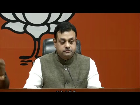 Whole Gandhi family today is known as a family of cheats, tax evaders and corrupts: Dr. Sambit Patra