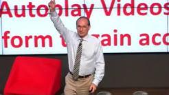 Future Digital Marketing keynote at premier Google event. Futurist keynote speaker Patrick Dixon