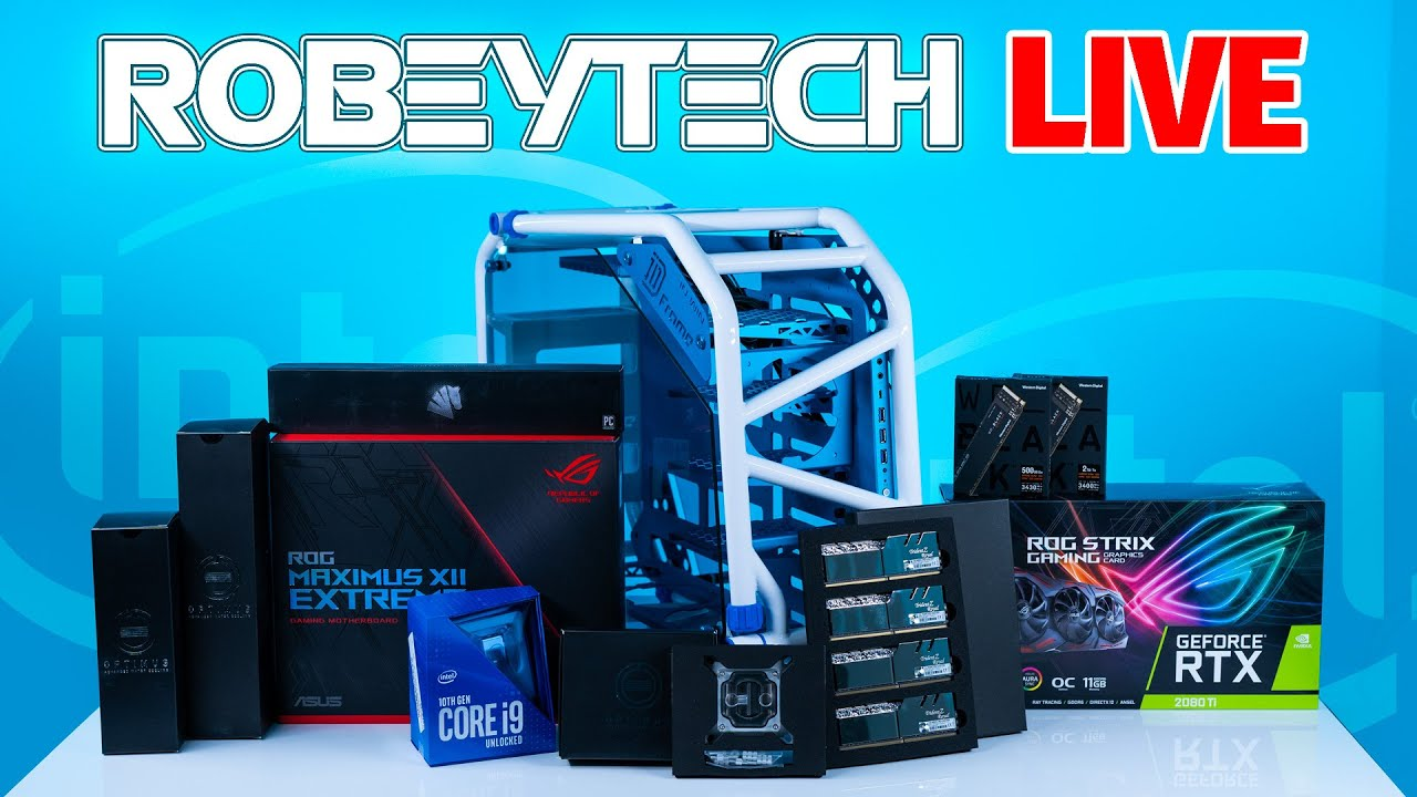 Download How to Build A PC - Intel Gamers Day Build - Giveaways + $5000+ Build ( 10900K / 2080Ti)