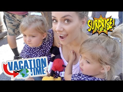 SHOCKING SURPRISE FUN FAMILY TRIP