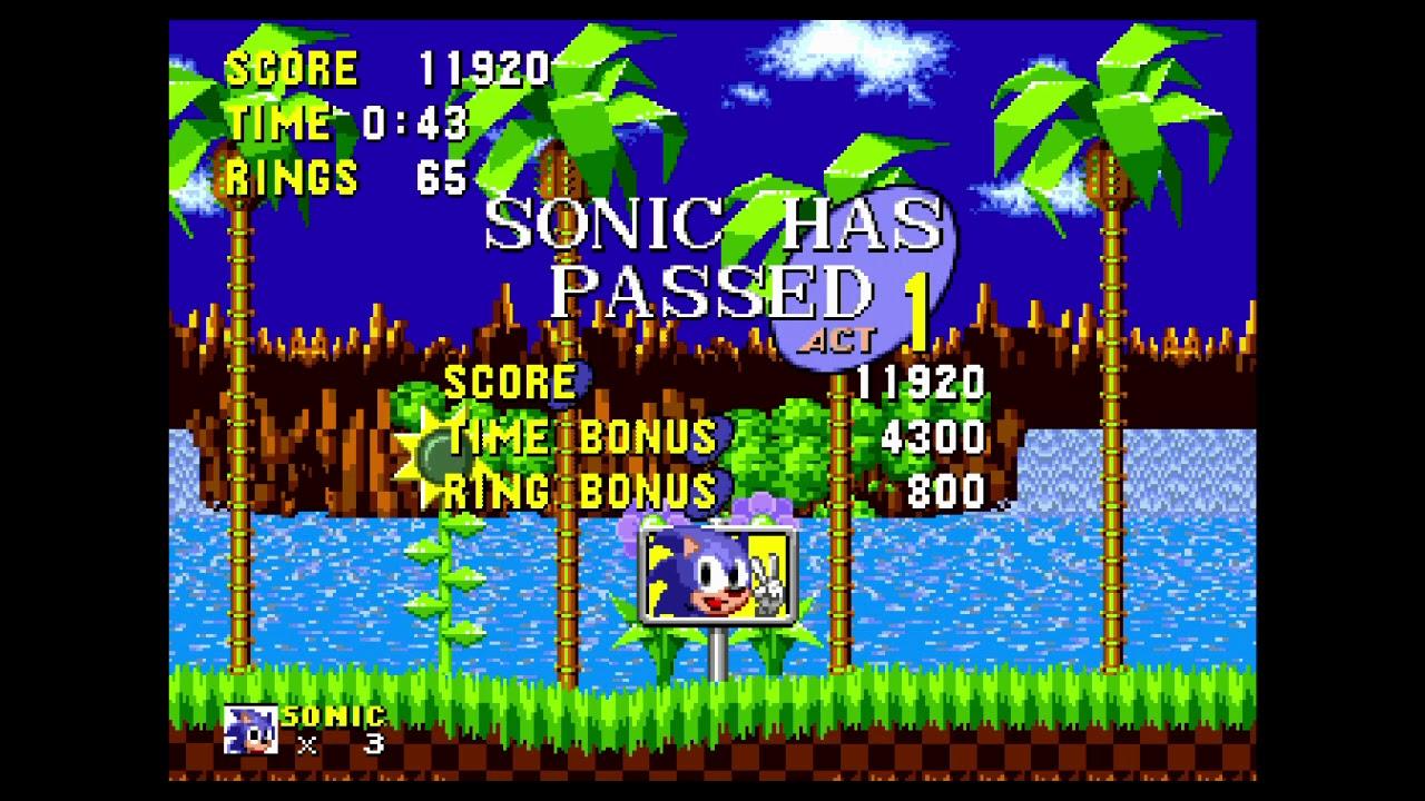 Atgames Sega Genesis Classic Game Console 2015 Version Sonic The Hedgehog Youtube