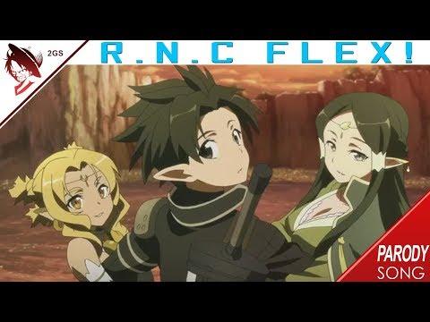 R.N.C - Kirito Thuguto Feat.Takashi Koonamuro (S.A O Parody)