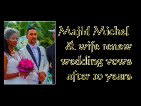 Majid Michel and wife Virna Michel renew wedding vows | @GhanaGist Video