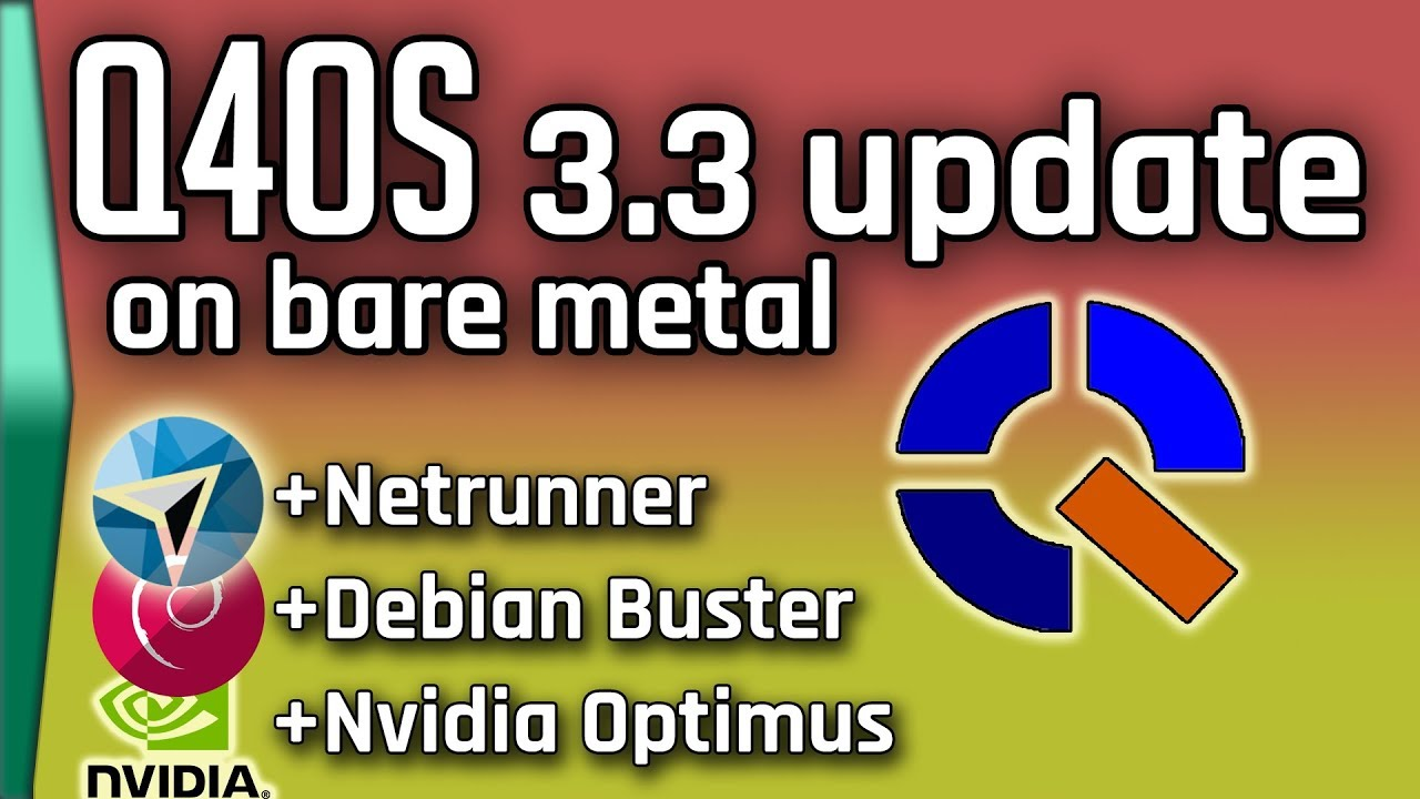 Update on Q4OS, Netrunner, and other things!