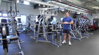 Hammer Strength Plate-Loaded High Row Instructions