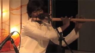 Maestro indian bansuri flute player Rishab Prasanna - Raga Desh - Pandit Ravi Shankar tribute
