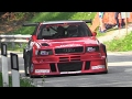 Audi S2 R Quattro Hillclimb Monster   2.2 5 Cylinder Turbo Engine Symphony!