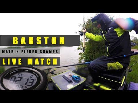 BARSTON 'LIVE MATCH' VIDEO - MATRIX FEEDER CHAMPS 2019